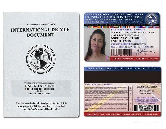 Bằng lái xe quốc tế có được lái xe ở Việt Nam hay không?