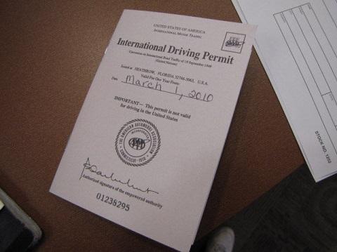Đọc bài này bạn sẽ biết tại sao nên đổi bằng lái quốc tế IAA