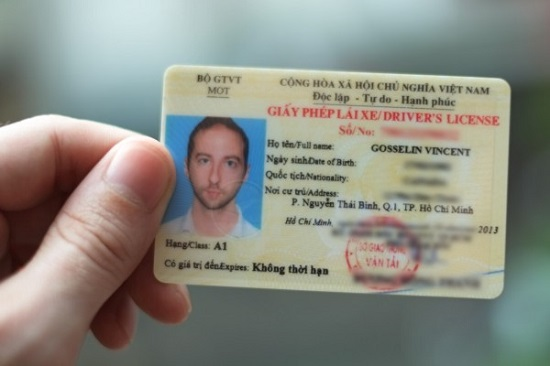 Đổi bằng lái xe cho người nước ngoài ở đâu?