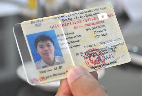 Đổi bằng lái xe ô tô đã hết hạn đăng ký