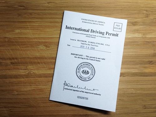 Đổi bằng lái xe quốc tế cần những gì?