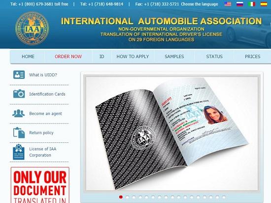 Đổi bằng lái xe quốc tế IAA không qua dịch vụ