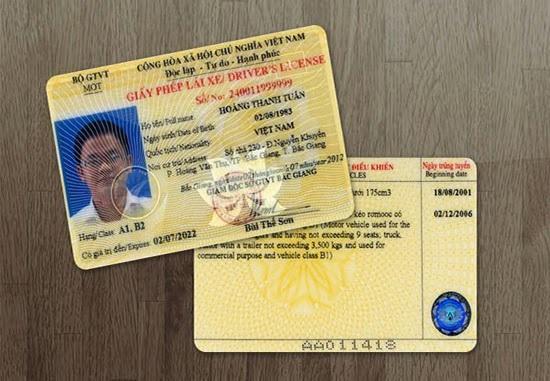 Hồ sơ đổi bằng lái xe hết hạn bao gồm những gì?