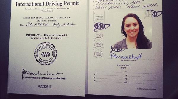 Làm sao để được chuyển đổi bằng lái xe quốc tế?