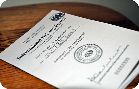 Mẫu giấy phép lái xe quốc tế chuẩn nhất hiện nay